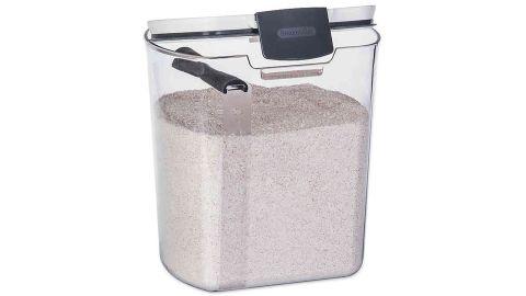 Progressive 5 lb. Flour Prokeeper in White/Grey
