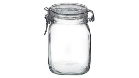 Fido 1-Liter Clamp Jar - Bormioli Rocco