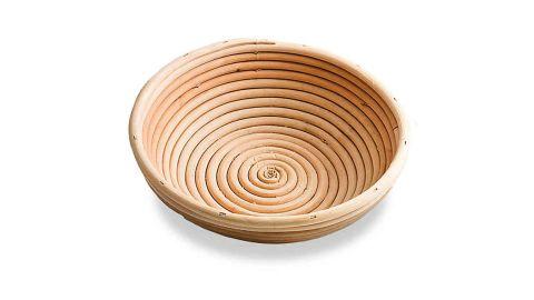 Frieling 8-Inch Round Brotform Bread-Rising Basket