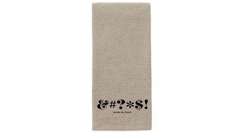 Kate Spade New York Expletive Towel