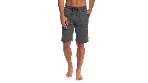 Unsimply Stitched Solid Knit Drawstring Lounge Shorts