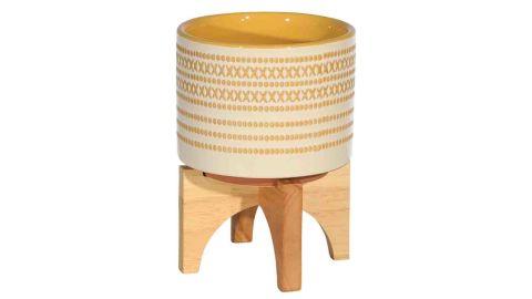 "Sagebrook Home Ceramic 5.25"" Planter On Stand"