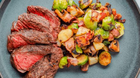 Butcher Box curates mixes of up to 21 cuts of high quality beef, chicken and pork.