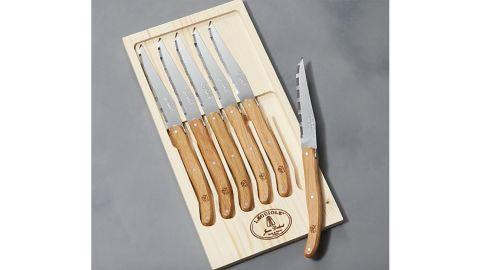 Laguiole ® Oak Steak Knives