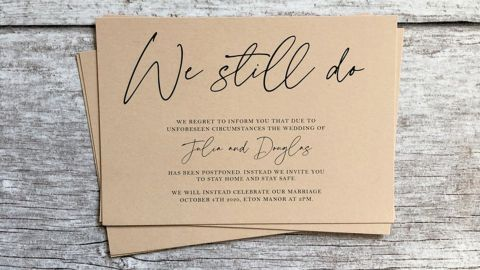 """You'll find more """"change the date"""" cards than you might expect, from understated and elegant to cheery and colorful."""
