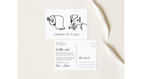 Roll with it Postcard by Palm Paperie DIY