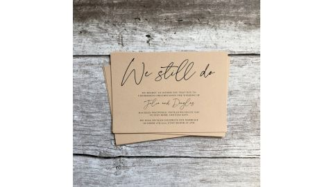 We Still Do Announcement by Peachy Prints UK