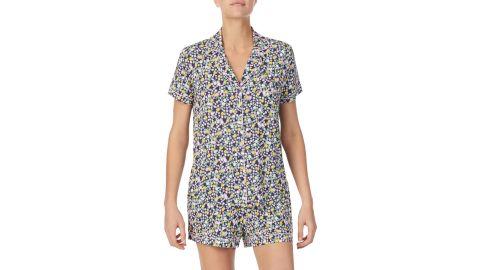 Kate Spade New York Floral Jersey Short Pajamas