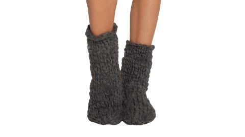 Eberjey Scout Wide-Knit Slipper Socks