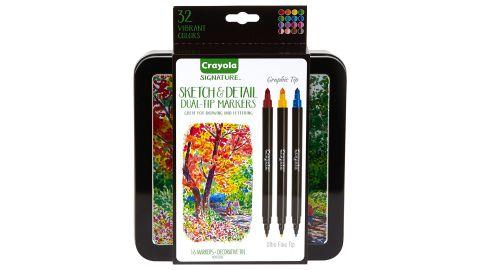 Crayola Sketch & Detail Dual-Tip Markers