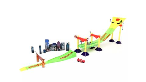 Cars Neon Race-Off Track Set