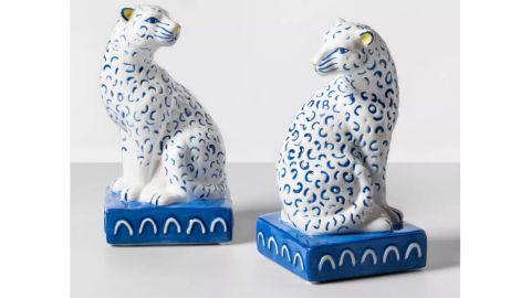 Opalhouse Two-Piece Leopard Bookend Set