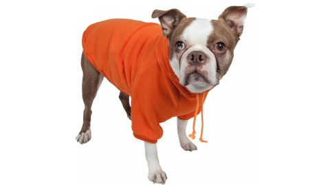 Fashion Plush Cotton Pet Hoodie