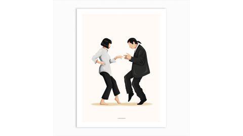 """""""Pulp Fiction"""" Art Print by Nour Tohme"""