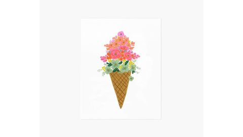 """Ice Cream Cone"" Art Print"