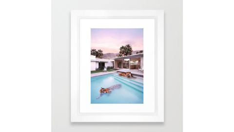 """""""Palm Springs Tigers"""" Framed Art Print by Paul Fuentes Photo"""