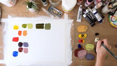 Acrylic Painting: Learn the Basics for Beginners on SkillShare
