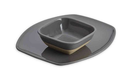 Rachael Ray Cityscapes Hot Chip and Dip Set