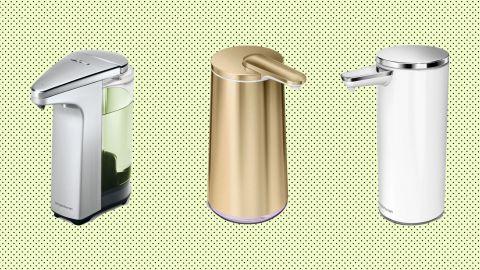 Simplehuman sensor soap pumps