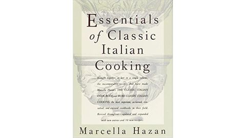 """""""Essentials of Classic Italian Cooking"""" by Marcella Hazan"""