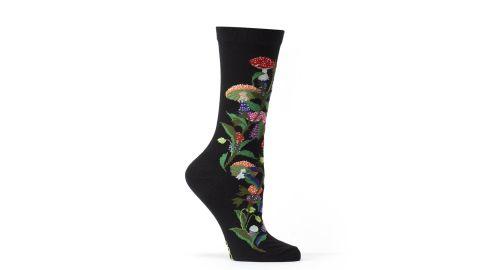 Amanita Muscaria Mushroom Crew Sock