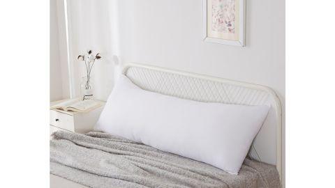 Jill Soft Hypoallergenic Medium Polyester Body Pillow