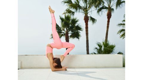 Alo Yoga has reintroduced its popular Pink Drop