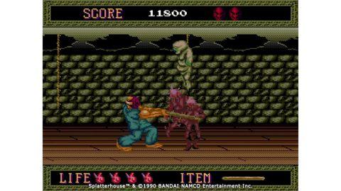 Play Splatterhouse on the Konami TurboGrafx-16 Mini