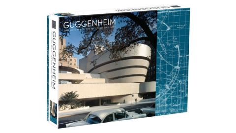 Frank Lloyd Wright Guggenheim 2-Sided 500-Piece Puzzle