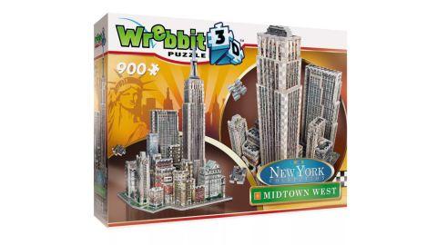 Wrebbit 2011 New York Midtown West 3D Puzzle 900 Pieces