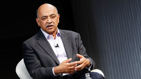 NEW YORK, NY - JUNE 16:  SVP and Director at IBM Research Arvind Krishna speaks on stage during the 2016 Wired Business Conference on June 16, 2016 in New York City.  (Photo by Brian Ach/Getty Images for Wired)