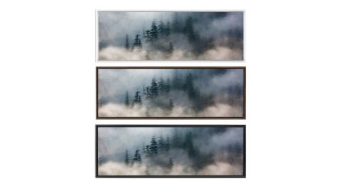 Foggy Mountain Forest, Oil Landscape Painting on Canvas
