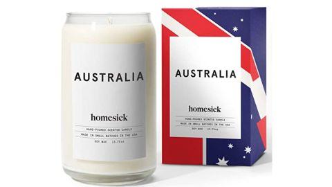 Homesick Candle, Australia