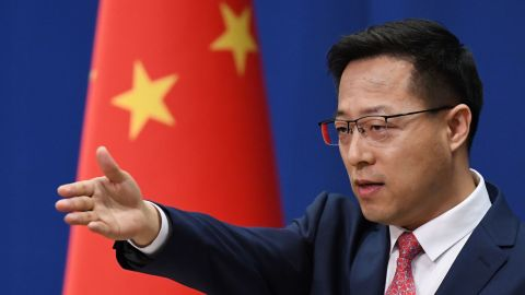 Chinese Foreign Ministry spokesman Zhao Lijian promoted a conspiracy theory on Twitter that the coronavirus was brought to China by the US military.
