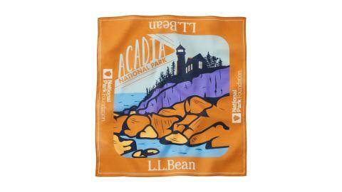 L.L.Bean Cotton Bandana, National Park Foundation