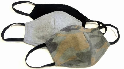 Washable Reusable Mask with Filter Insert