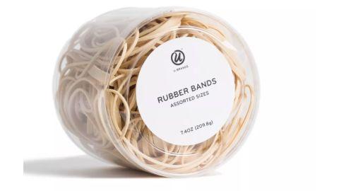 UBrands 7.4oz Rubber Bands Assorted Sizes