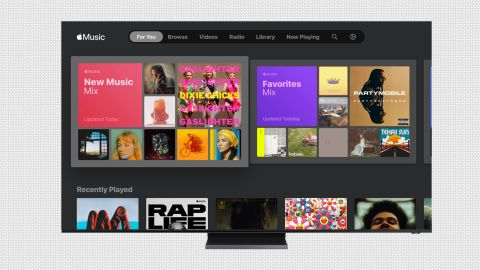 Apple Music is now available on Samsung Smart TVs.