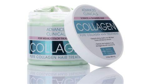 Advanced Clinicals Collagen Hair Treatment Mask