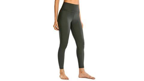 "CRZ Yoga Women's Naked Feeling High Waist Tight Yoga Pants 25"""
