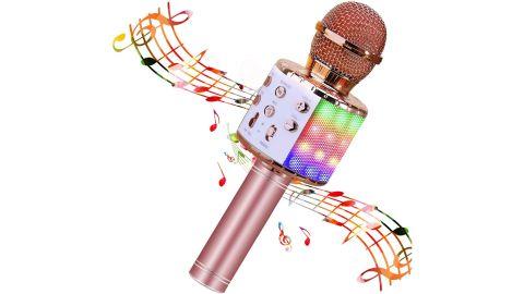 BlueFire Wireless 4 in 1 Bluetooth Karaoke Microphone