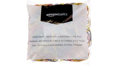 AmazonBasics Assorted Size and Color Rubber Bands