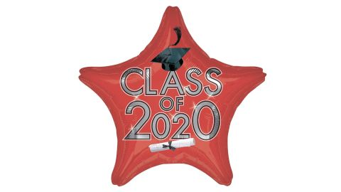 Class of 2020 Star Balloon