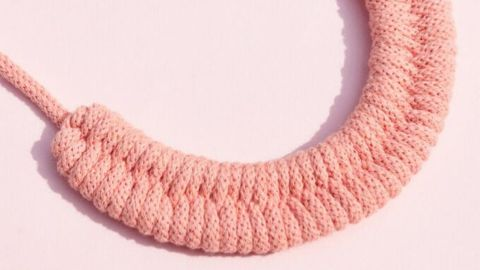 Make Your Own Woven Cotton Necklace Kit