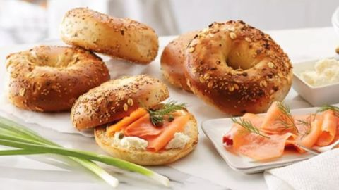 Wolferman's Bakery Everything Bagels with Lox and Cream Cheese Assortment