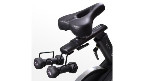 The Echelon bike's seat