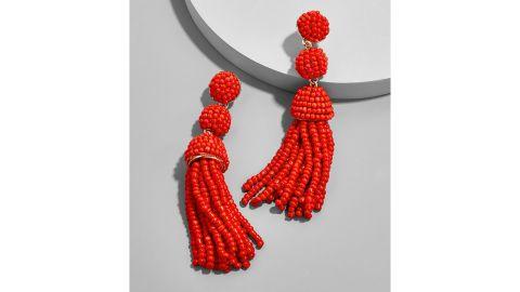 Mini Granita Tassel Earrings