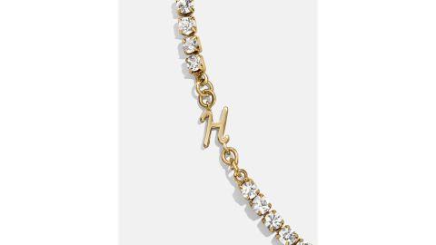 Initial Crystal Bracelet