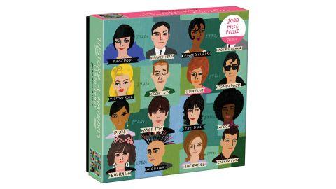 Galison History of Hairdos Puzzle, 1,000 pieces
