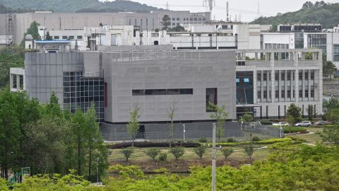 A general view shows the P4 laboratory at the Wuhan Institute of Virology in Wuhan in China's central Hubei province on April 17, 2020. - The P4 epidemiological laboratory was built in co-operation with French bio-industrial firm Institut Merieux and the Chinese Academy of Sciences. The facility is among a handful of labs around the world cleared to handle Class 4 pathogens (P4) - dangerous viruses that pose a high risk of person-to-person transmission. (Photo by Hector RETAMAL / AFP) (Photo by HECTOR RETAMAL/AFP via Getty Images)